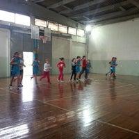 1/19/2014 tarihinde Cagla P.ziyaretçi tarafından Dsi Kapalı Spor Salonu'de çekilen fotoğraf