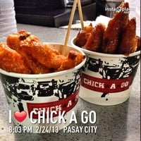 Photo taken at Chick A Go by Janrey B. on 2/24/2013