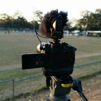 Photo taken at Annerley Football Club by Dave D. on 8/10/2014