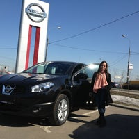 Photo taken at Nissan by Илья Н. on 4/13/2013