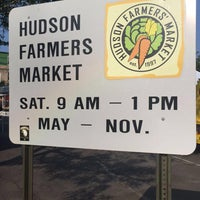 Photo taken at Hudson Farmers Market by Hungry Domaine ~. on 8/26/2017