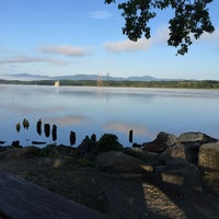 Photo taken at Henry Hudson Waterfront Park by Hungry Domaine ~. on 8/29/2015