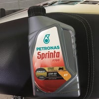 Photo taken at PETRONAS Station by احمد ن. on 3/27/2018