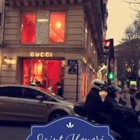 Photo taken at Gucci by Mugdad . on 1/3/2017