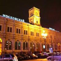 Снимок сделан в Московский вокзал пользователем Светлана Д. 2/22/2013