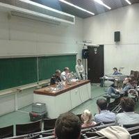 Photo taken at Université Saint-Louis by Alexis G. on 4/25/2013