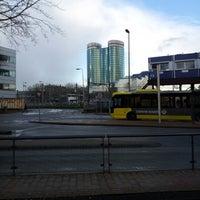 Photo taken at Busstation Centrumzijde by Jan K. on 2/5/2013