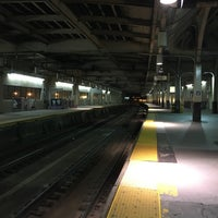 Photo taken at Newark Penn Station - Track 1 by Elizabeth F. on 2/5/2017