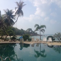 Photo taken at Haad Tian Beach Resort by k _ a. on 1/25/2014