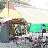 Photo taken at 산수원캠핑장 by Seongjoon S. on 9/20/2013
