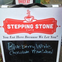 Photo taken at Stepping Stone Cafe by Brad on 12/2/2012