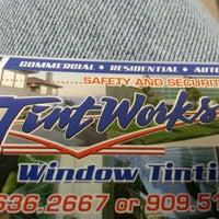 Photo taken at Tint Works Window Tinting by Julius W. on 3/8/2013