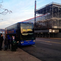Photo taken at Megabus Terminal - W 34th St & 11 Av by Peter C. on 12/15/2012
