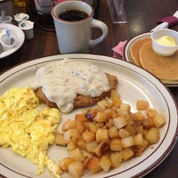 Photo taken at Belgian Waffle & Steakhouse by Jesse S. on 8/31/2014
