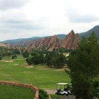 Photo taken at Arrowhead Golf Club by Caiti K. on 7/14/2013