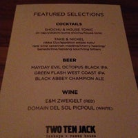 Photo taken at Two Ten Jack by Crystal C. on 1/11/2014