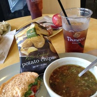 Photo taken at Panera Bread by  Frank S. on 7/19/2013