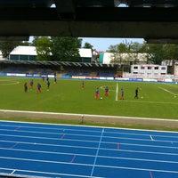 Photo taken at Stade Fallonstadion by Ben U. on 5/19/2013