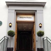 Photo taken at Abbey Road Studios by Karen M. on 5/21/2013