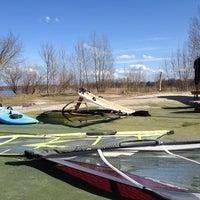 Photo taken at Jadviga's Windsurfing Spot by Andris S. on 5/1/2013
