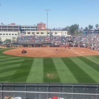 Photo taken at Rita Hillenbrand Memorial Stadium by Robert S. on 5/10/2014