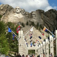 Photo taken at Mount Rushmore National Memorial by Jim F. on 6/8/2013