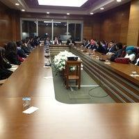 Photo taken at T.C. Gençlik ve Spor Bakanlığı by Sila Gunce C. on 2/26/2013