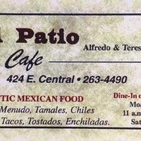 Photo taken at El Patio Cafe by Daniel B. on 9/14/2016