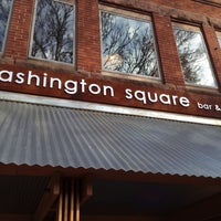 Photo taken at Washington Square Bar and Grill by Tim N. on 10/10/2012