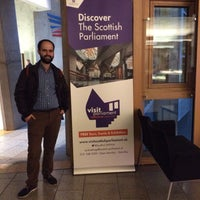 Photo taken at Scottish Parliament by Yusuf T. on 10/26/2016