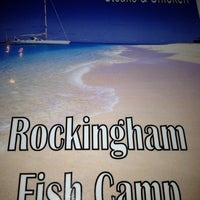 Photo taken at Rockingham Fish Camp by Jeanette K. on 10/3/2012