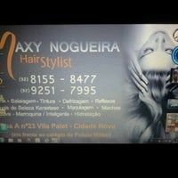 Photo taken at maxy nogueira hair stylist by Maxy N. on 3/11/2013