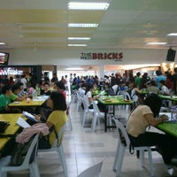 Photo taken at The Red Bricks Cafeteria (formerly Canteen 1) by Tan G. on 12/31/2012