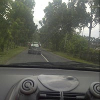 Photo taken at Jl. Trans Sulawesi by Inggried MH R. on 8/7/2013