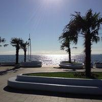 Снимок сделан в Пляж «Ланжерон» пользователем Anna T. 6/2/2013