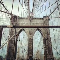 Photo taken at Manhattan Bridge by Laura L. on 11/13/2012