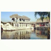 Photo taken at 昆明湖 Kunming Lake by EvoJack on 10/18/2012