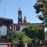 Photo taken at plaza jiquilpan pueblo mágico by FERNANDO R. on 1/24/2017