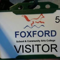 Photo taken at Foxford school & community arts college by Cristina A. on 2/26/2014