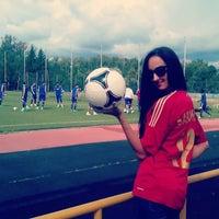 Photo taken at Стадион ЦСКА в Ватутинках by Alexandra K. on 7/24/2013