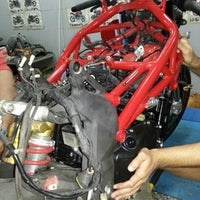 Photo taken at MV Agusta ShowRoom by Abdullah A. on 11/12/2012