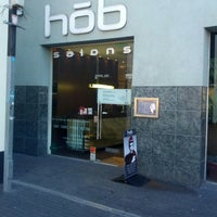 Photo taken at Hob Salons by Viktoor on 10/19/2013