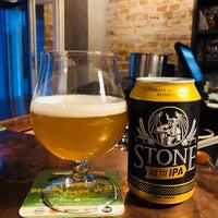 Photo taken at Stone Brewing Tap Room by Rodrigo J. on 7/9/2018