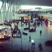Photo taken at Budapest Liszt Ferenc International Airport (BUD) by Fanni G. on 5/21/2013
