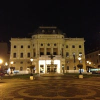 Photo taken at Hviezdoslav Square by Maxim V on 11/7/2012