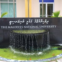Photo taken at Maldives National University by Zi D. on 11/17/2014