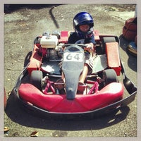 Photo taken at Kart Track by Ruther L. on 12/30/2012