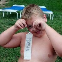 Photo taken at Woodcroft Swim Club by -Michele H. on 7/9/2013