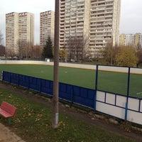 Photo taken at Футбольное поле by Svetlana T. on 10/20/2013