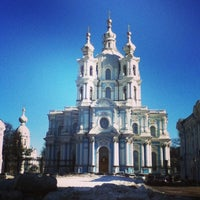 Photo taken at School of International Relations SPBU by Валерия Т. on 3/28/2013